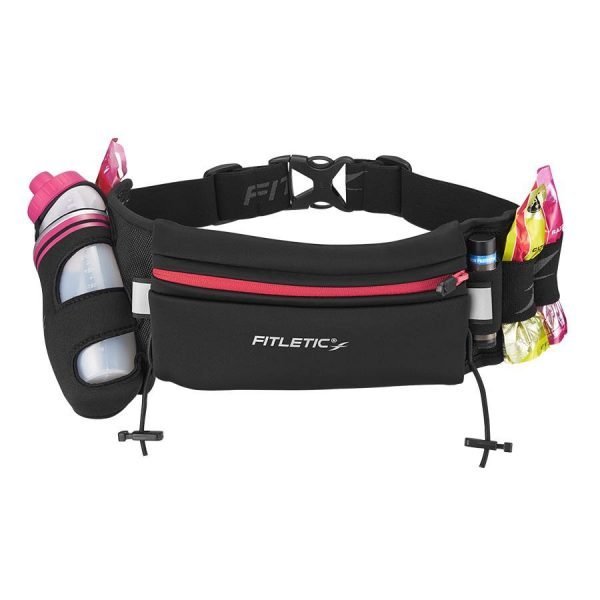 _0008_Fully Loaded Hydration Running Belt Pink