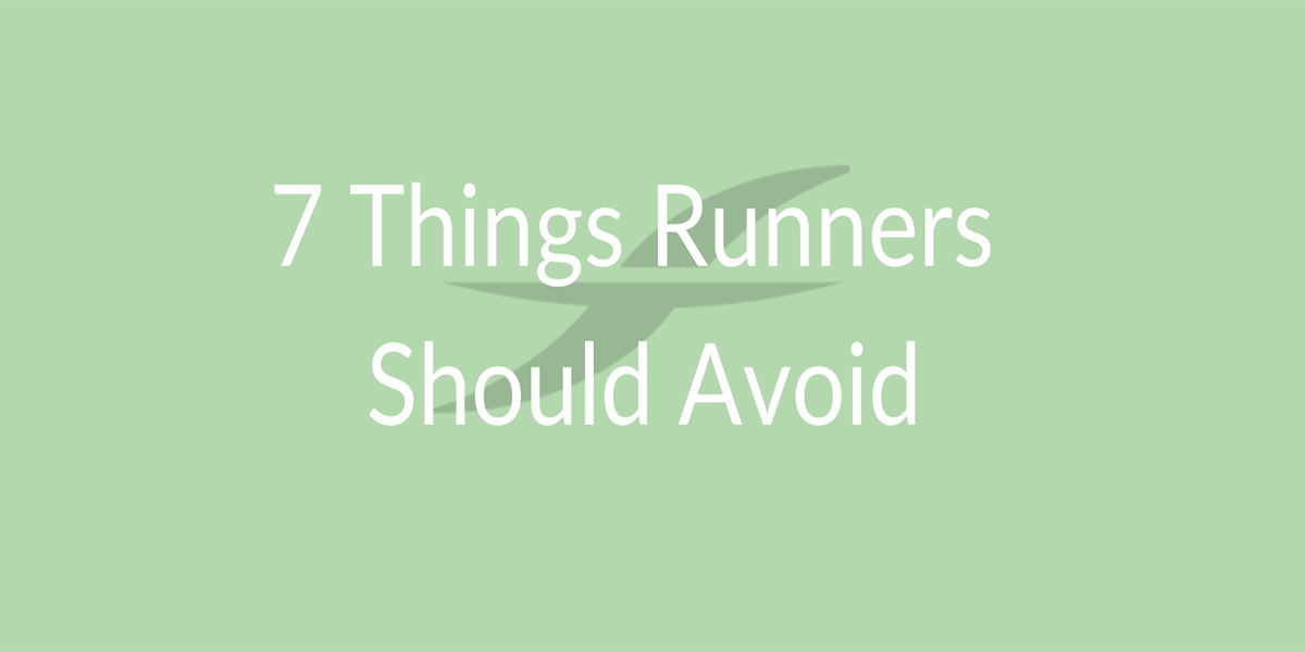 Stay Healthy When Long Distance Running – 7 Things Runners Should Avoid!